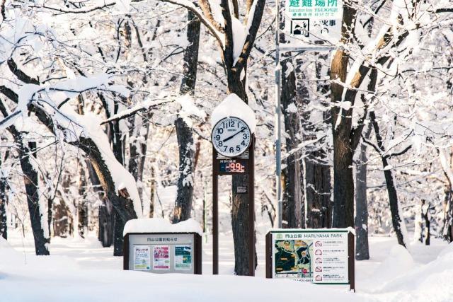 札幌に移住すると、寒い