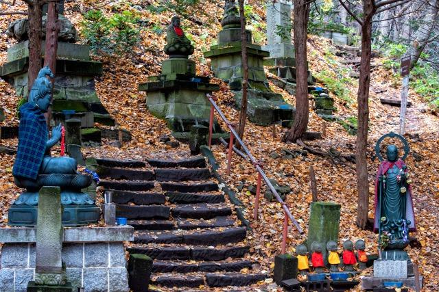 円山公園の登山ルート