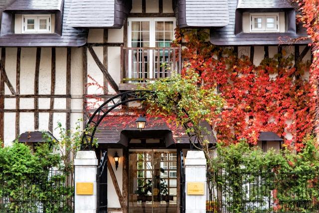 円山公園前のレストラン