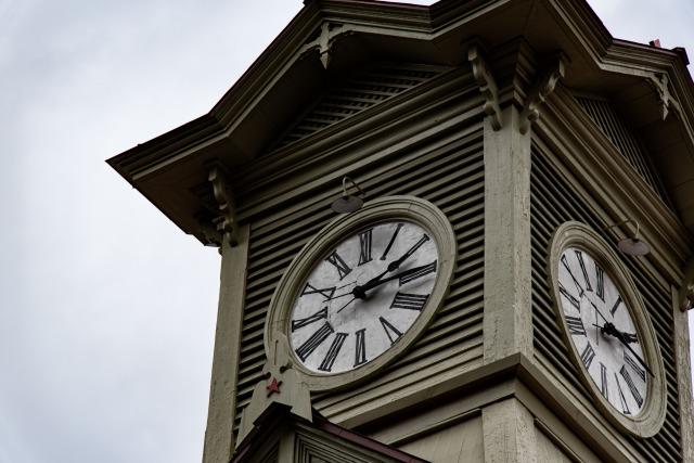 札幌の時計台って、正直がっかり。