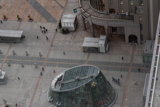 JRタワー展望室T38(タワー・スリーエイト)昼の絶景ビュー