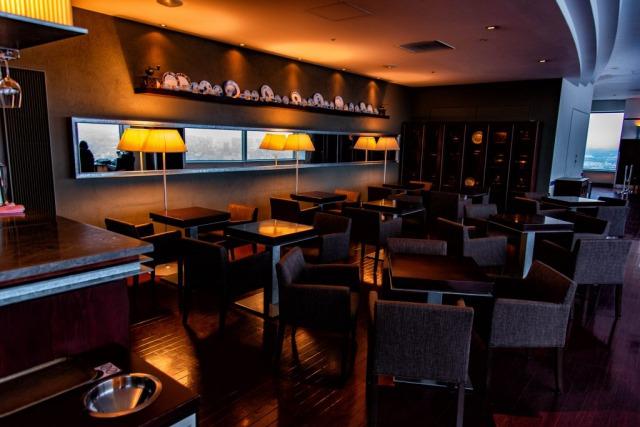 JRタワー展望室T38(タワー・スリーエイト)のカフェ