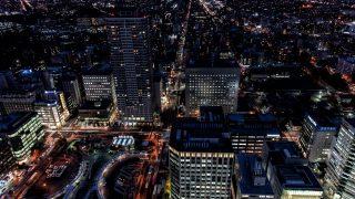 JRタワー展望室T38から見る夜景