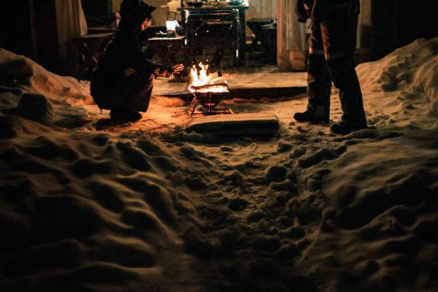 雪の中でキャンプできる