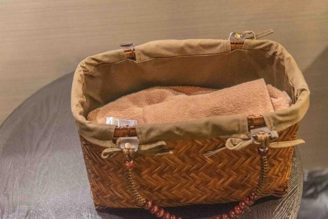 ラビスタ函館ベイのカゴバッグ