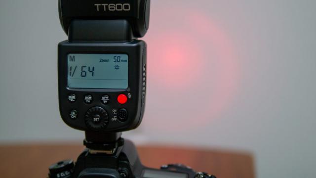 Godox TT600の操作説明