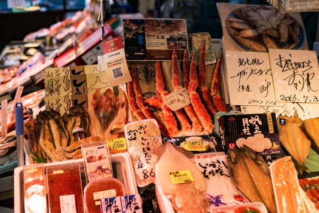 海鮮のお土産
