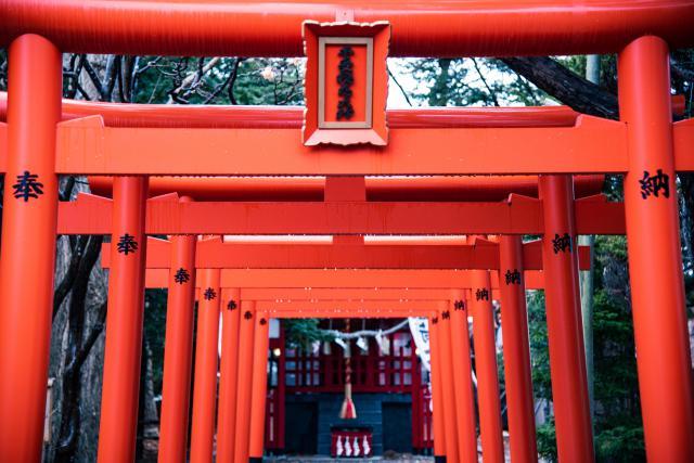 湯倉神社は、豊受稲荷神社がおすすめ
