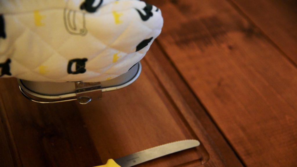 シロカSB-111ホームベーカリーで食パンを作る手順の写真