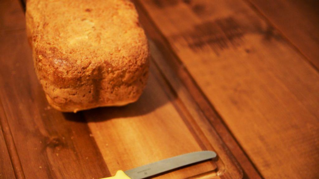 シロカSB-111ホームベーカリーでつくった食パン