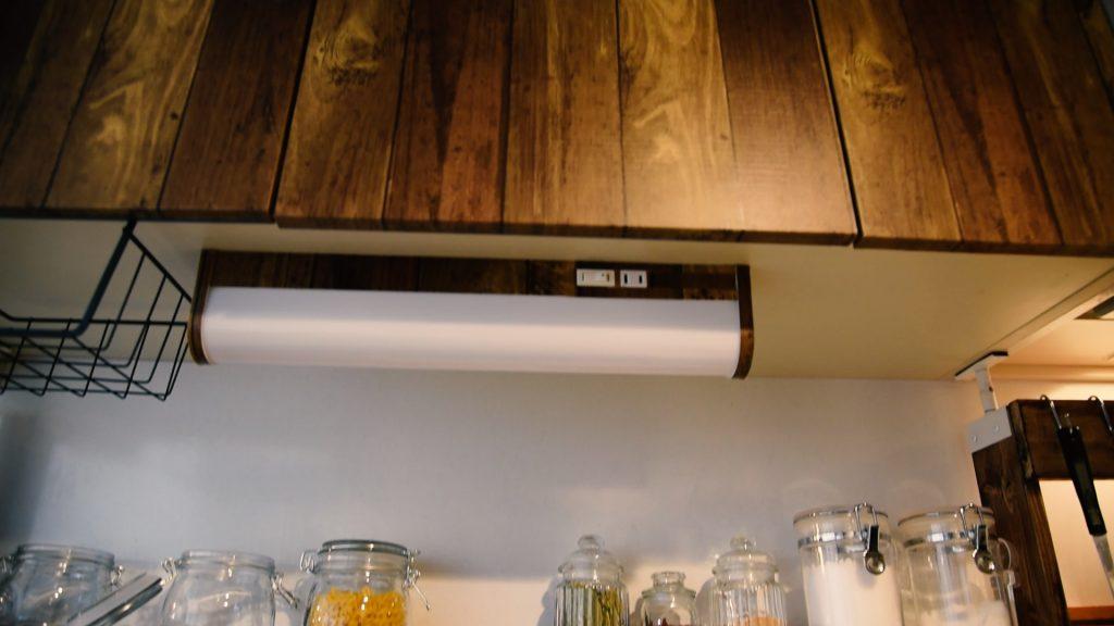 DIYしたキッチンの写真