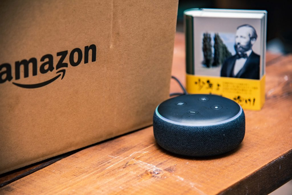 amazon echo dotの画像