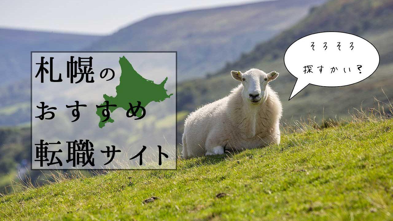 札幌でおすすめの転職サイト7選!元人事が、企業側目線も交えて解説!