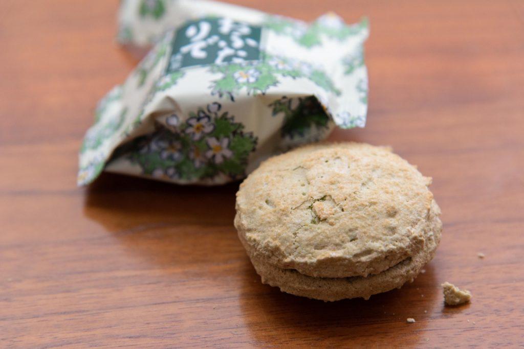 六花亭のお菓子、おふたりで(抹茶)