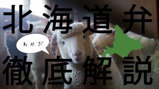 【方言】北海道弁の最新事情、札幌移住民が解説します【最新版】