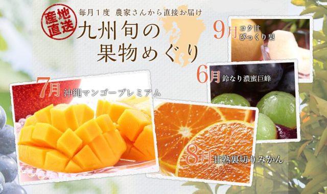 九州旬の果物巡り