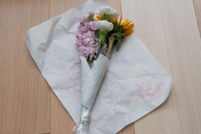 ブルーミーライフで届いた花