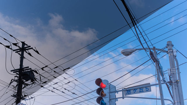 ライトルームで空を青く現像する方法│超簡単に、新海誠アニメの空を。