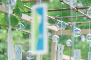 美瑛神社の風鈴
