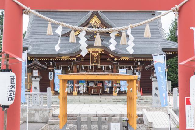美瑛神社の外観