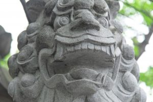 手稲神社の狛犬