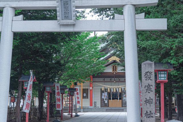 発寒神社は、街中にある素敵なスポット
