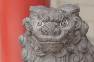 発寒神社の狛犬