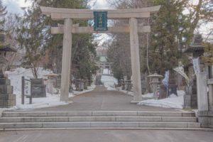 小樽住吉神社の外観