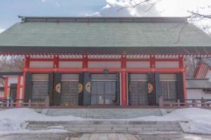 小樽住吉神社の境内