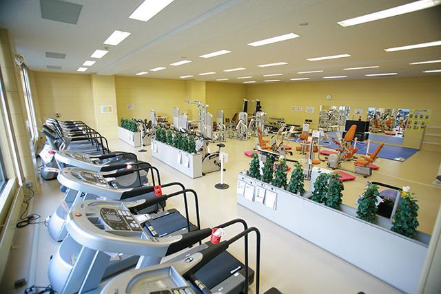 清田区体育館:トレーニング室