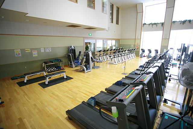 中央健康づくりセンター:運動フロア