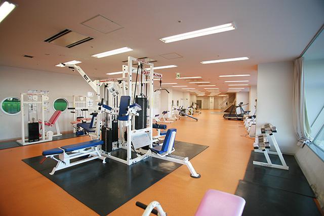 つどーむ:トレーニング室