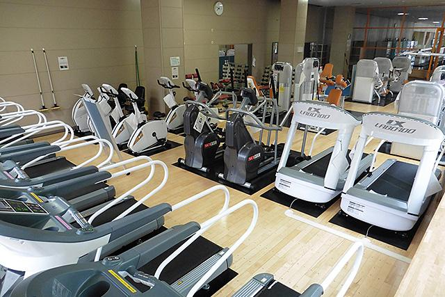 北区体育館:トレーニング室