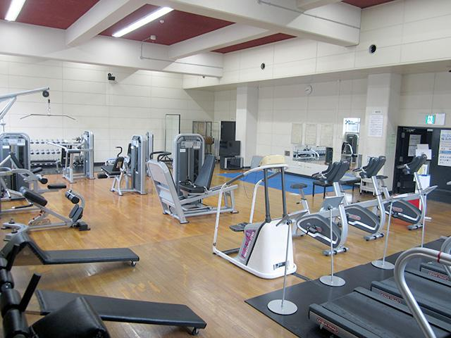 厚別区体育館:トレーニング室