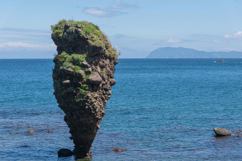 えびす岩は、本当にいつ倒れるのかわからない
