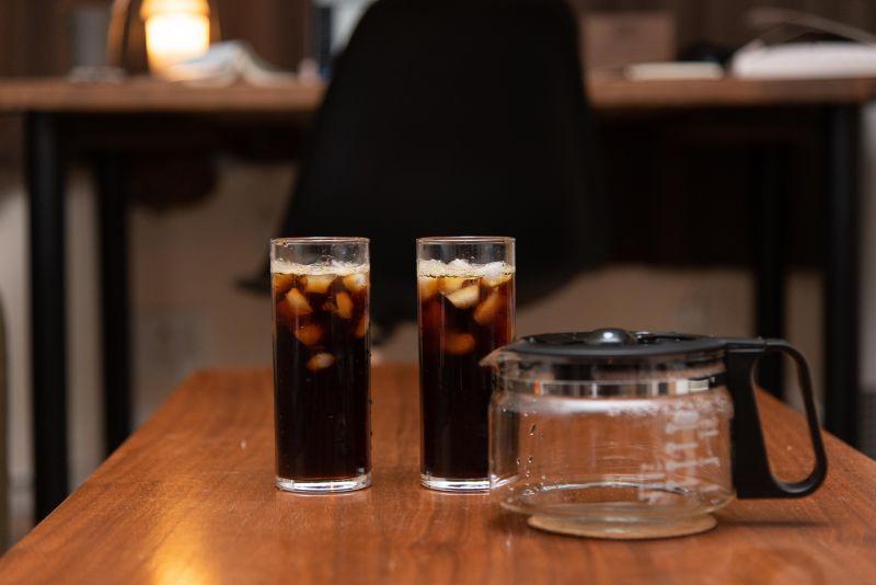 NC-A57-kでいれたアイスコーヒー
