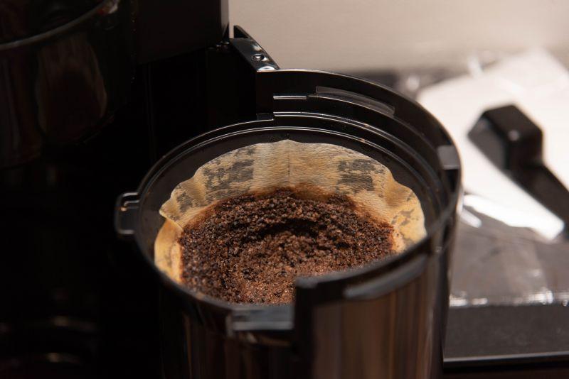 NC-A57-kのコーヒー抽出後の写真